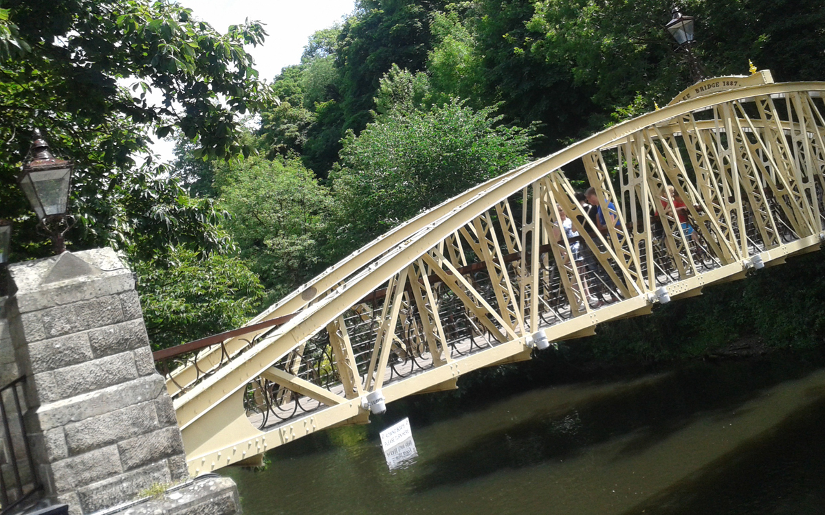Jubilee bridge matlock bath